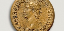 MONNAIE DE L'ANTIQUITE ROMAINE - EMPIRE ROMAIN, Caligula, 37-41. Rome, 37-38. Sesterce en bronze (avers).
