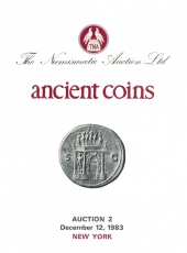 VENTE AUX ENCHERES - Tradart N° 2. The Numismatic Auction LTD. Ancient Coins. Auction 2. New York 12 décembre 1983