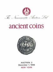 VENTE AUX ENCHERES - Tradart N° 3. The Numismatic Auction LTD. Ancient Coins. Auction 3. New York 1 décembre 1985