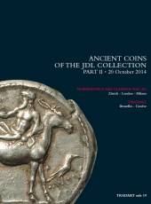 VENTE AUX ENCHERES - Tradart N° 19. Ancient coins of the JDL Collection Part II. Zürich 20 octobre 2014.